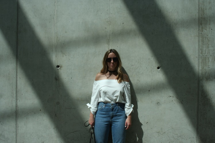 Denim and Blouse 3